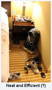Stuff in Motel Room